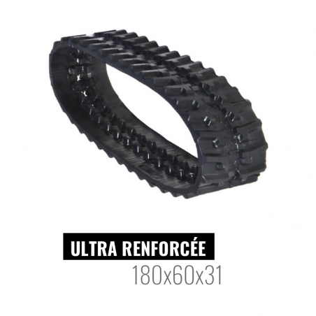 Rubberen rups Accort Ultra 180x60x31