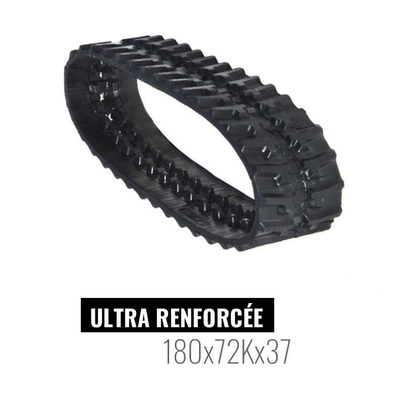 Rubber track Accort Ultra 180x72Kx37