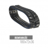 Rubberen rups Accort Track 180x72x36