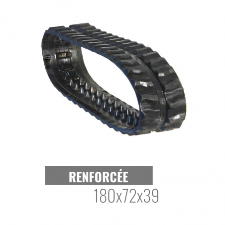 Rubberen rups Accort Track 180x72x39