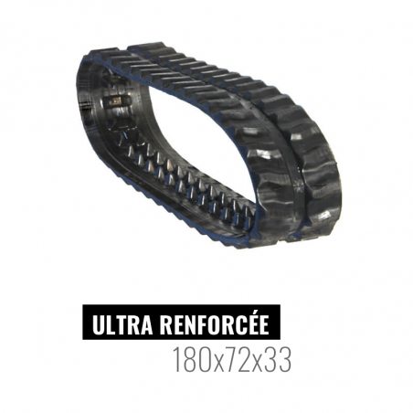 Rubberen rups Accort Ultra 180x72x33