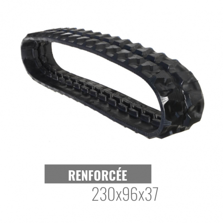 Rubberen Rups Accort Track 230x96x37