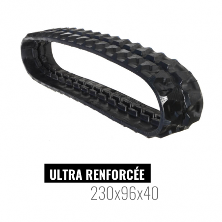 Chenille caoutchouc Accort Ultra 230x96x40