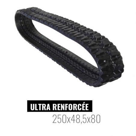 Oruga de goma Accort Ultra 250x48,5x80