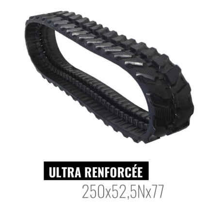 Rubberen Rups Accort Ultra 250x52,5Nx77