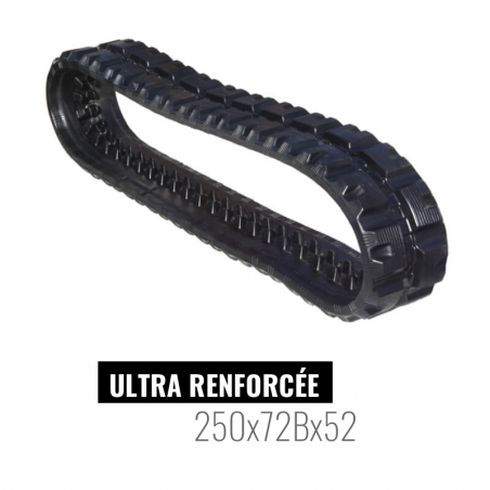 Chenille caoutchouc Accort Ultra 250x72Bx52