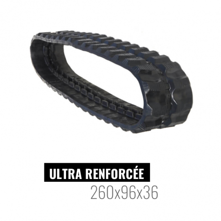 Gummikette Accort Ultra 260x96x36