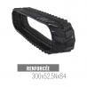Rubberen rups Accort Track 300x52,5Nx84