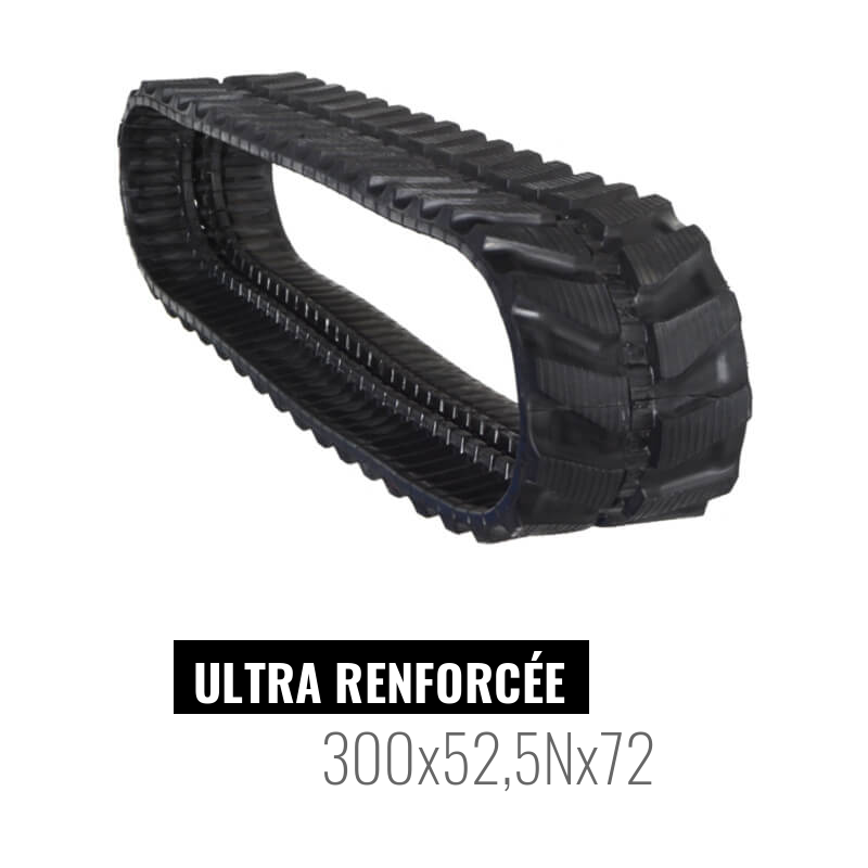 Rubber track Accort Ultra 300x52,5Nx72