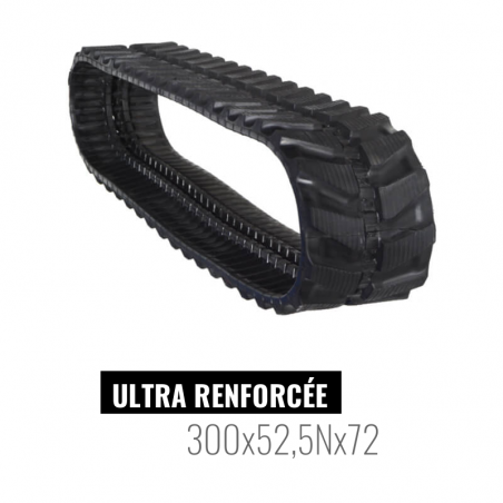 Oruga de goma Accort Ultra 300x52,5Nx72