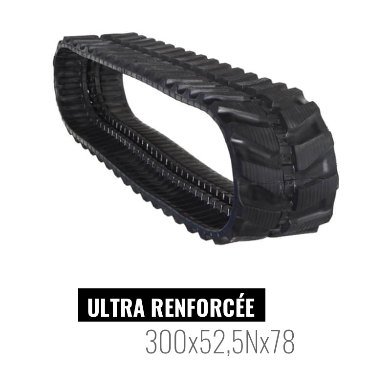 Oruga de goma Accort Ultra 300x52,5Nx78