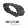 Cingolo in Gomma Accort Track 300x52,5Wx78