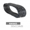 Cingolo in gomma Accort Track 300x52,5Wx86