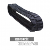 Rubberen rups Accort Track 300x55,5Yx80