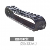 Cingolo in gomma Accort Track 320x100x40