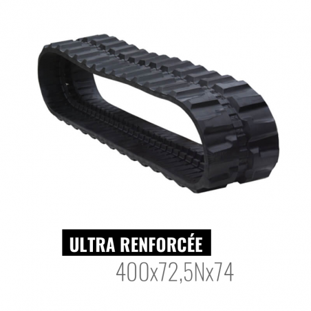 Oruga de goma Accort Ultra 400x72,5Nx74