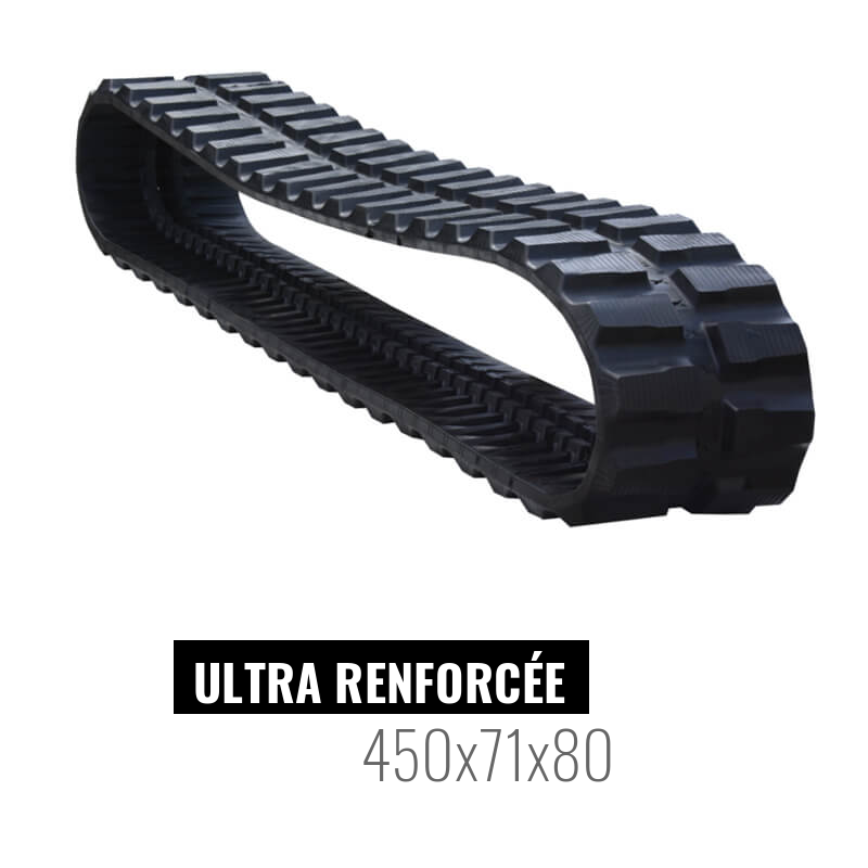 Rubber track Accort Ultra 450x71x80