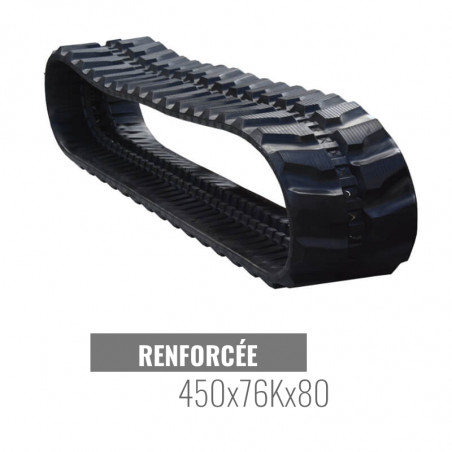 Chenille caoutchouc Accort Track 450x76Kx80