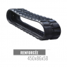 Rubberen rups Accort Track 450x86x58
