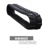 Cingolo in gomma Accort Track 500x92Wx80
