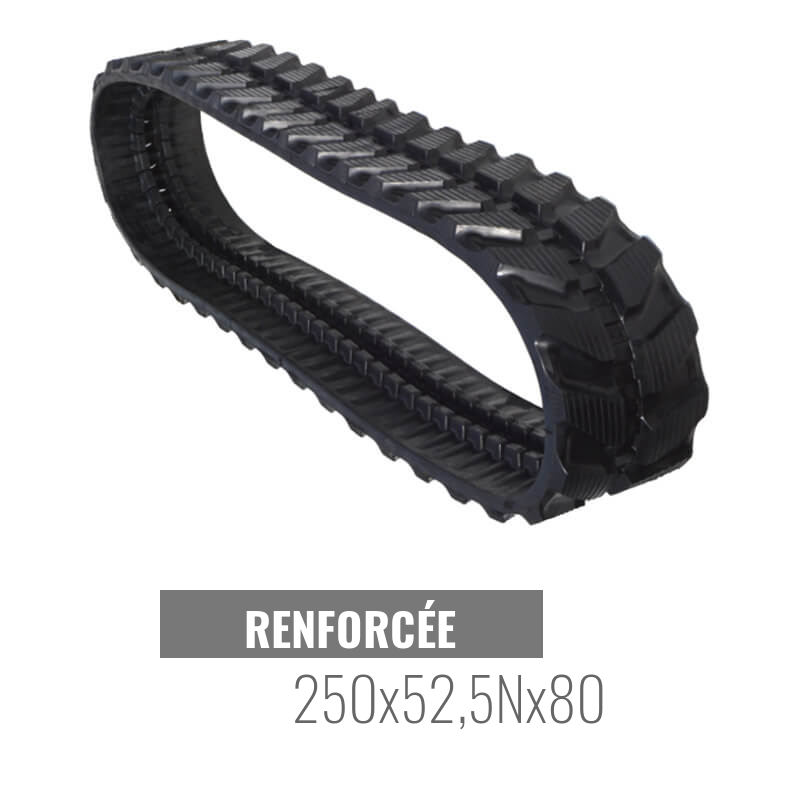Gummikette Accort Track 250x52,5Nx80