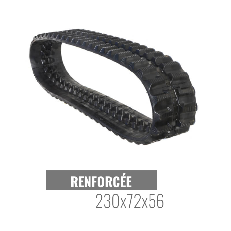 Rubberen Rups Accort Track 230x72x56
