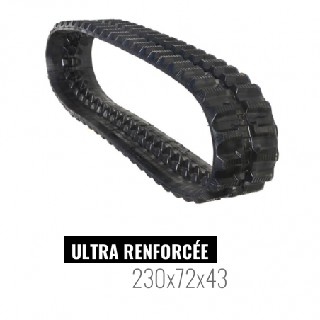Rubber track Accort Ultra 230x72x43