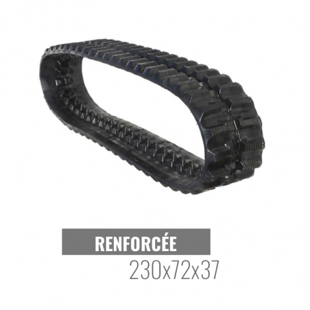 Gumikette Accort Track 230x72x37