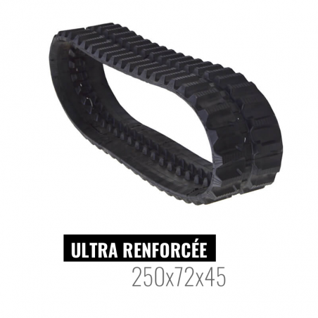 Cingolo in gomma Accort Ultra 250x72x45