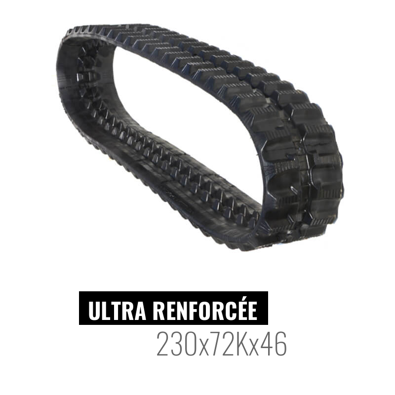 Rubberen Rups Accort Ultra 230x72Kx46