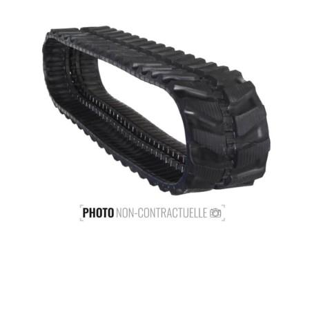 Cingolo in gomma Accort Track 400x74Nx68
