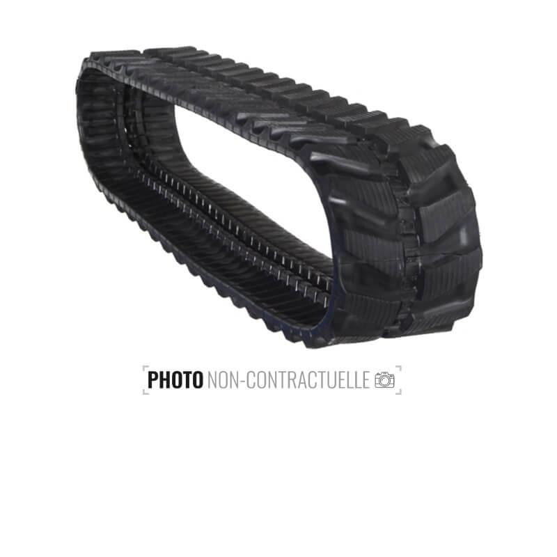 Cingolo in gomma Accort Track 400x74Nx74