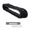 Cingolo in gomma Accort Track 450x83,5x72