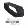 Rubber track Accort Track 180x72Yx43