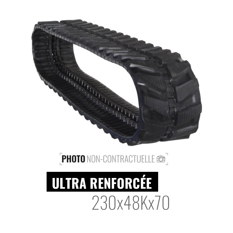 Gumikette Accort Ultra 230x48Kx70