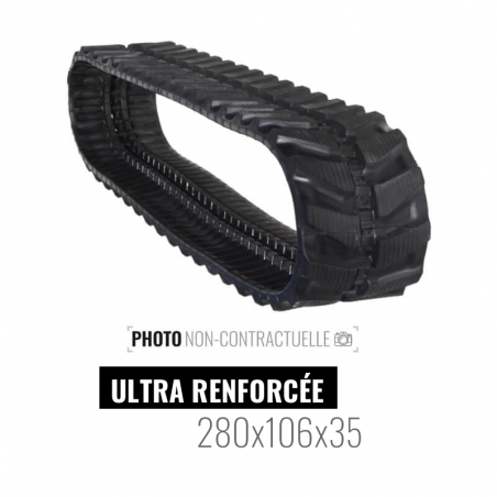 Rubber track Accort Ultra 280x106x35