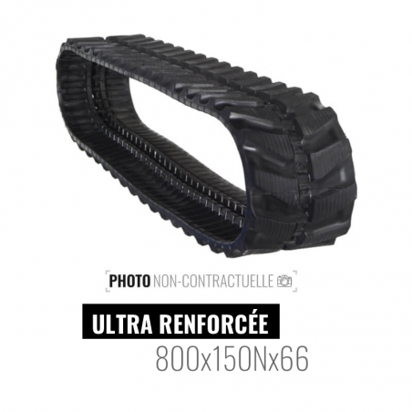 Rubber track Accort Ultra 800x150Nx66